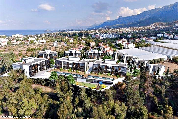 Villa for two owners in a beautiful development in Alsancak