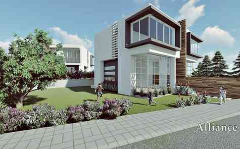 Villa for two owners in Lapta
