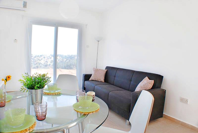 One bedroom penthouse on the coast, in Catalkoy