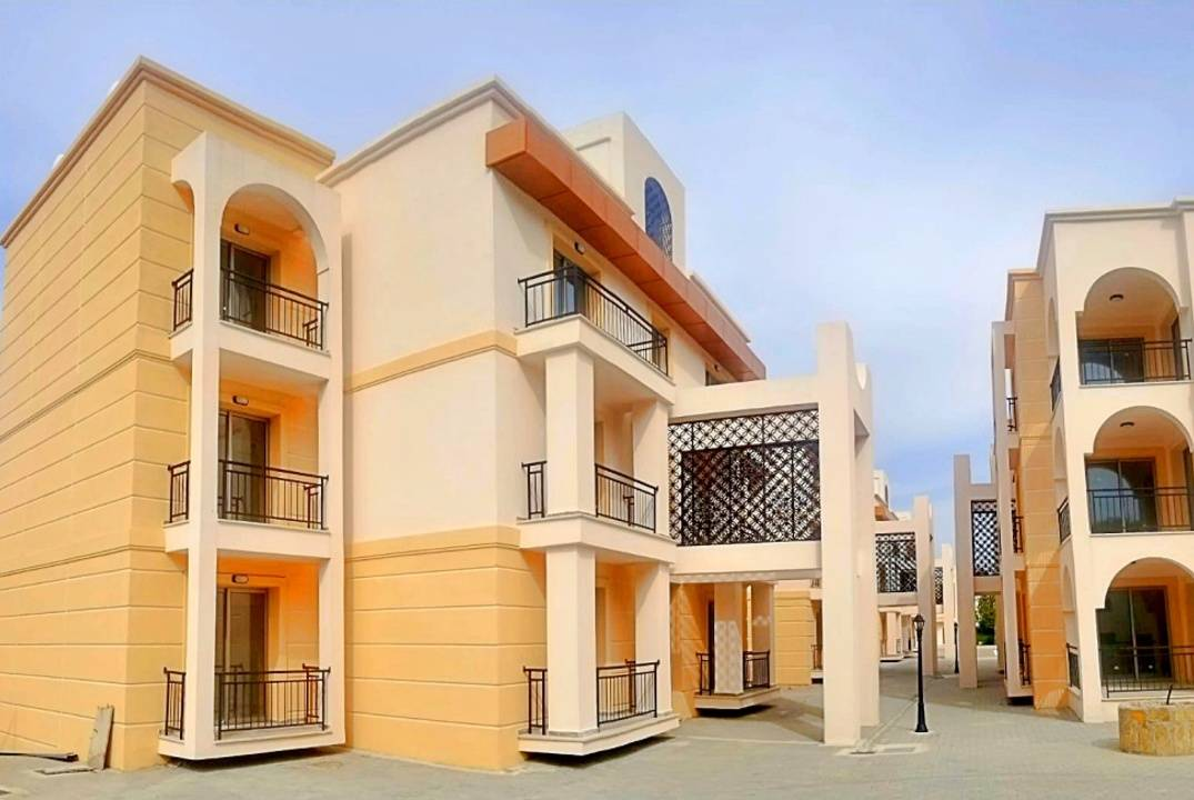 Two bedroom apartment in new development in Lapta
