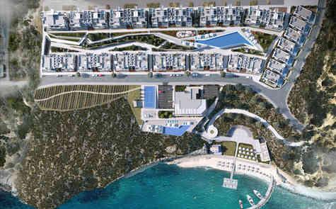 Beachfront house, beach, infrastructure