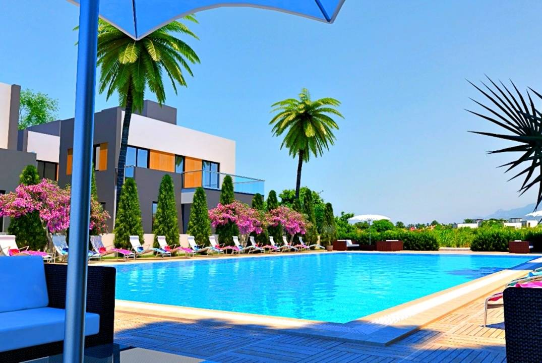 Villas 3 + 1 in Karsiyaka, convenient payment plan - installments and loan