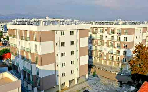 Apartments in Lefcosa,in Kucuk Kaymakli,  Turkish Title deeds