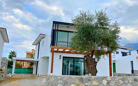 Luxury villas in Dogankoy - location and quality!