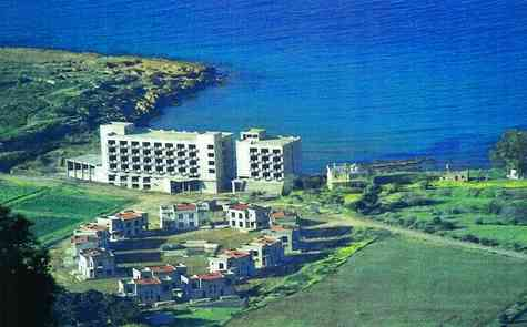 An unfinished hotel and casino by the sea for sale