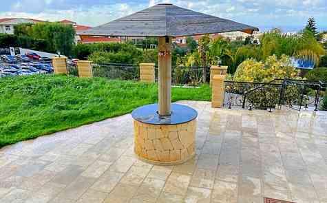 Unique villa in Bellapais, 360 degree panoramas, luxury in four levels!