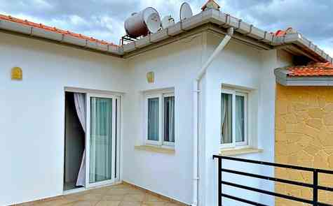 Three bedroom villa in Catalkoy, for sale with furniture