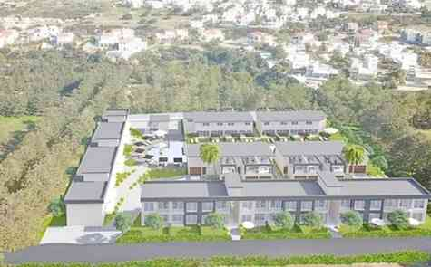 Duplex villas in the first, environmentally friendly project in Northern Cyprus