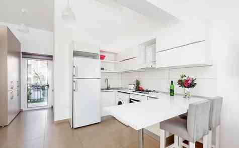 One-bedroom new furnished duplex in a coastal complex