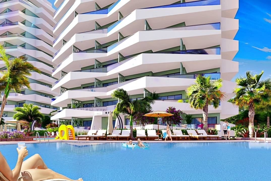 One bedroom apartment in new  holiday development on the beach