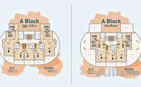 Two-bedroom apartments - exclusive location, infrastructure, reasonable prices