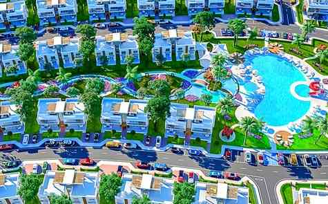 Apartments 1+1  for sale in a luxury complex on the beach