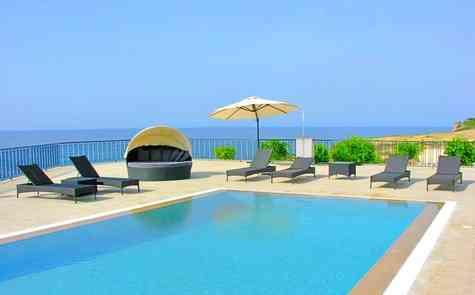 Luxury villa on the beach