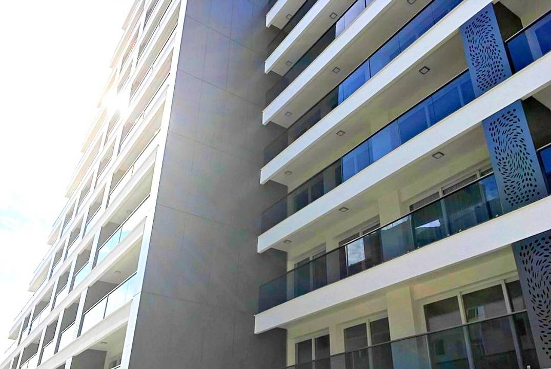 Apartments of different layouts in the center of Famagusta, a development with infrastructure
