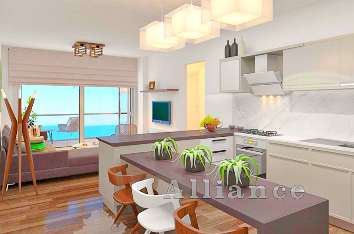 Beach, apartments with two bedrooms, Gaziveren