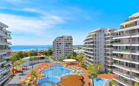 Studio in holiday development  in 200 meters from the sea