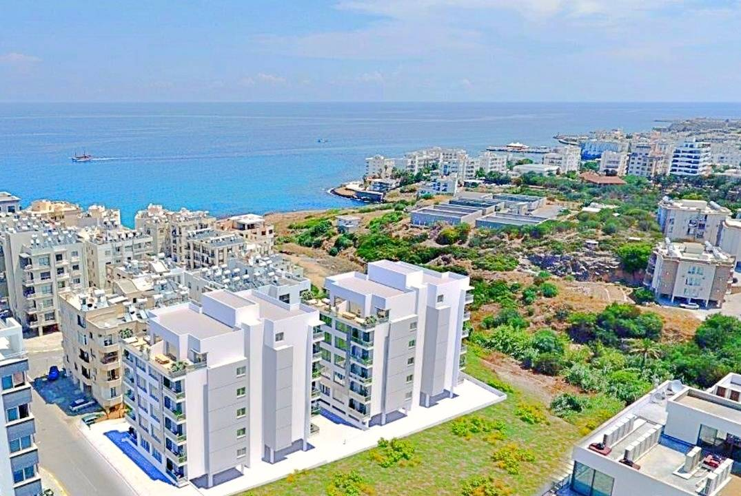 "Apartment complex in Kyrenia ""SEA BREEZ"" - Sea Coast and City Center"