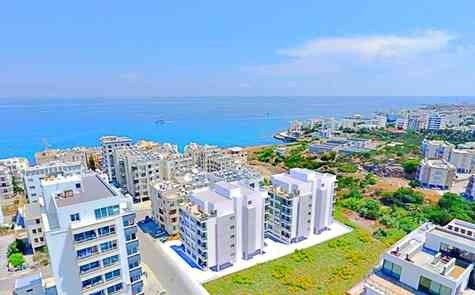 Luxury apartments located in the heart of Kyrenia, loan is possible