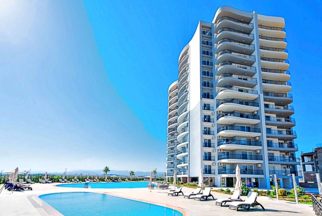 Apartments in a resort complex of the type of apart-hotel, guaranteed rental