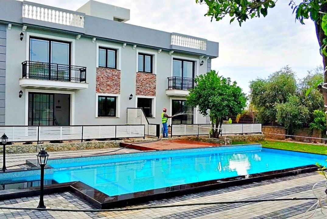 One and two bedroom apartments in a cozy complex in Lapta