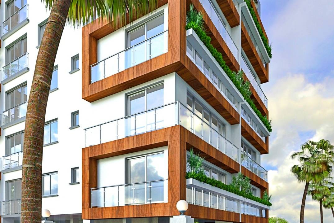 Apartments in  Kyrenia center in a new house- loan from the developer