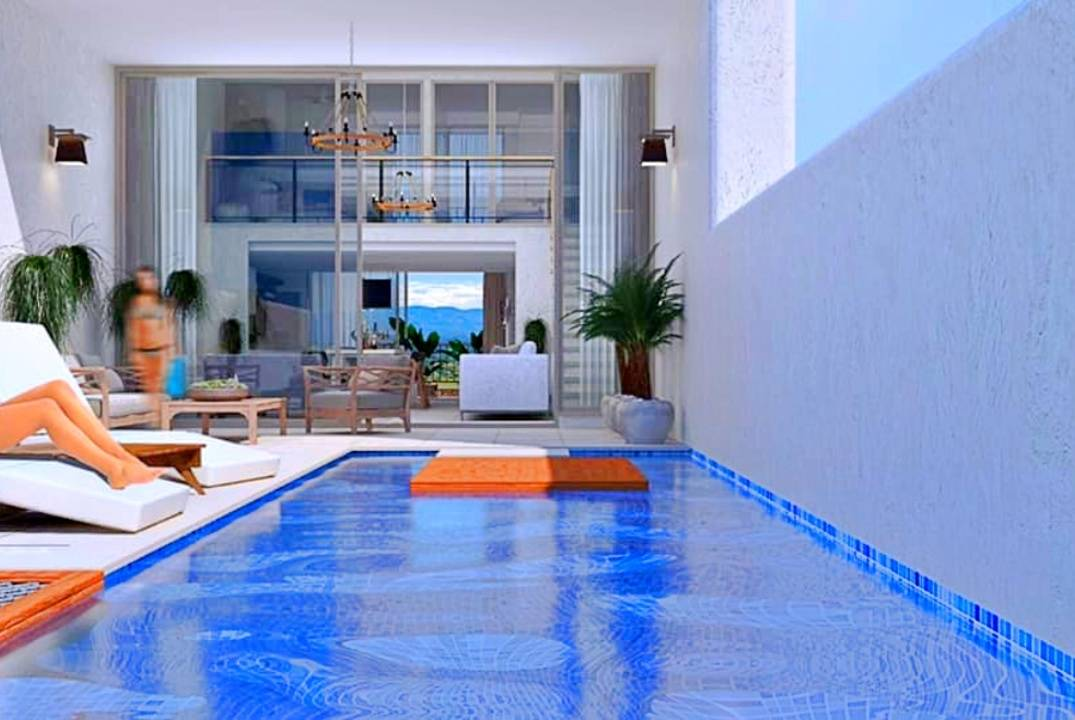 Apartments in a luxury complex on the sea - happy life on the sea