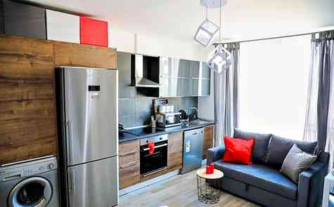 Studio apartment located in the heart of Famagusta in a modern building