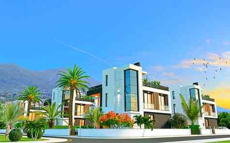 Luxury villa with 4 bedrooms in Chatalkoy