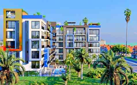 One  and two bedroom apartments on the sea are a great investment!