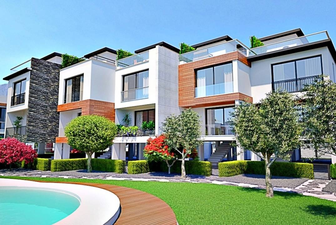 Stunning four-level townhouses - comfortable life close to infrastructure!