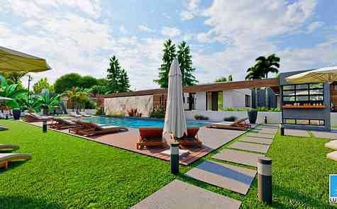 Villas in a modern complex in Yeni - Bogazaci