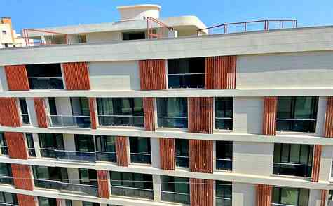partments 2 + 1 and 3 + 1 in a gated complex in Kyrenia - well-developed infrastructure!