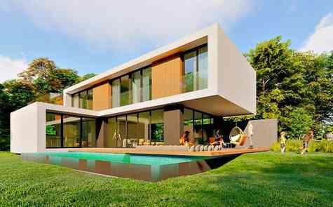 Luxury three-bedroom villas in Salamis area