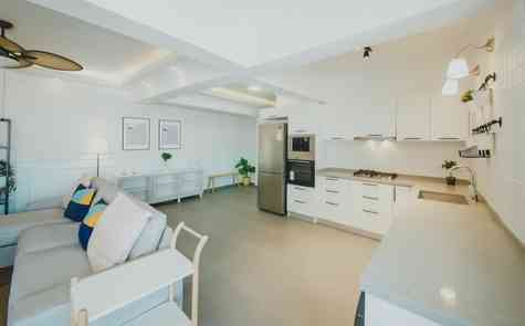 3 bedroom apartments in complex 600 meters from a sandy beach