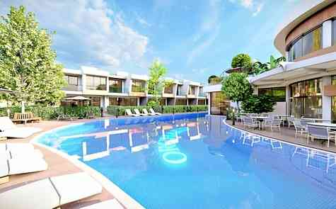 Two bedroom apartments with private garden and penthouses near Salamis