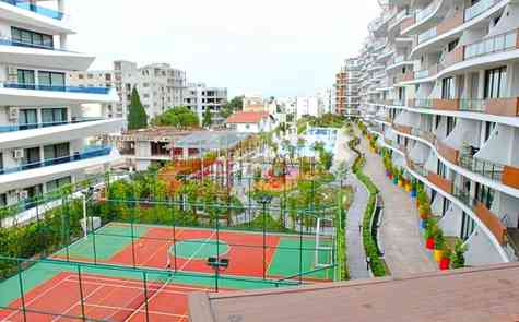 Two bedroom apartment in a modern complex in Kyrenia