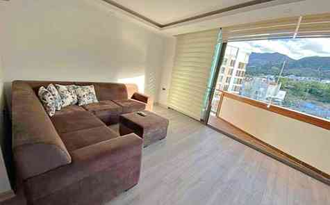 Luxury three bedroom apartments in a complex in the center of Kyrenia