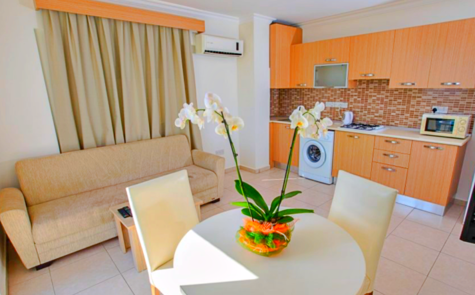 Apartment development 200 meters from sandy beach- studio for sale