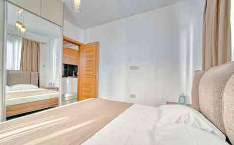 Apartments with two bedrooms in the development - 300 meters from the sandy beach