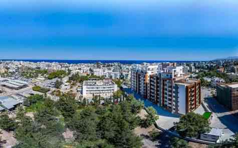 Luxury penthouse duplex in Kyrenia, completed, title deeds ready- possible credit