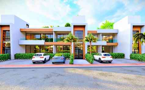Two and three bedroom apartments in Salamis area