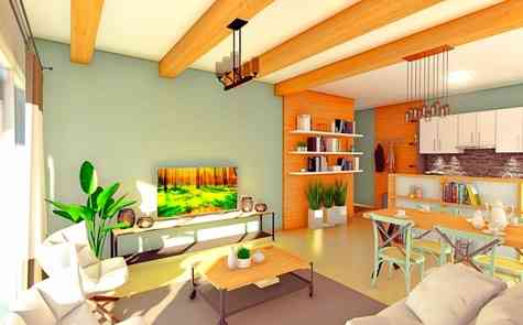 Two bedroom apartments in a new project located next to the popular Long Beach