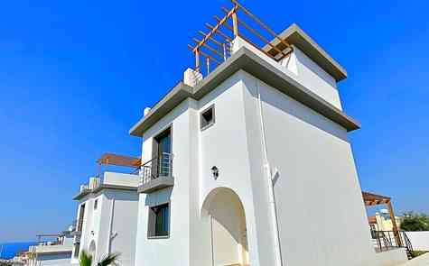 Villas 2 + 1 in Esentepe - beach, golf club nearby