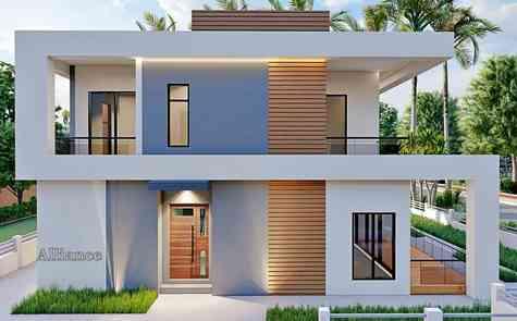Semi detached  villa in Bogaz, next to the sandy beach!
