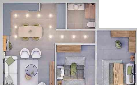 Studios and apartments in a modern building in the heart of Famagusta