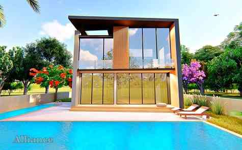 Four bedroom pool villa - great location and quality