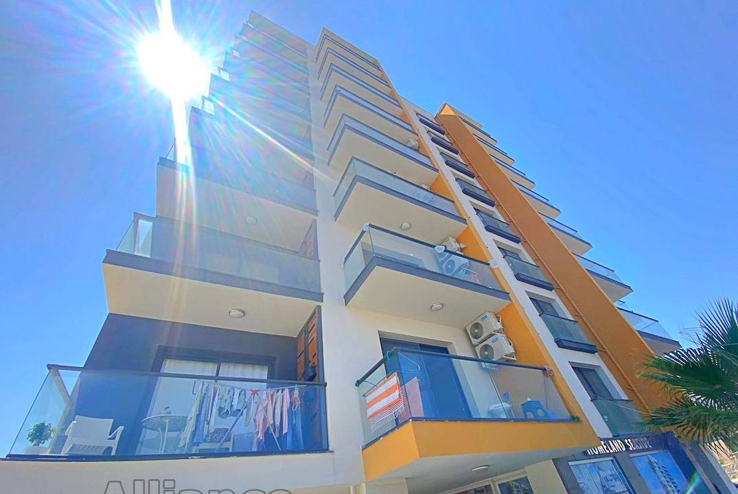 One-bedroom apartment near the beach in Iskele - profitable for investment, rental or living