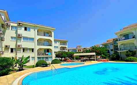 Fully equipped two-bedroom apartment on the beach