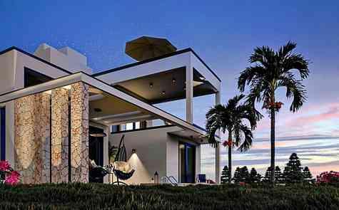 Stunning villas with panoramic views