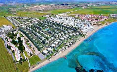 Apartments of different layouts and penthouses in an exclusive complex near the sea in Bogaz